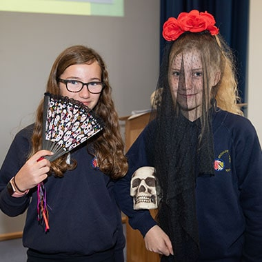 Year 7 Enrichment Day - 'Day of the Dead'